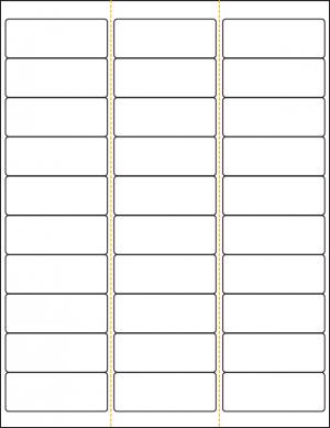 Monroe Data Products Label #15 inkjet laser standard address labels 30-up sheets